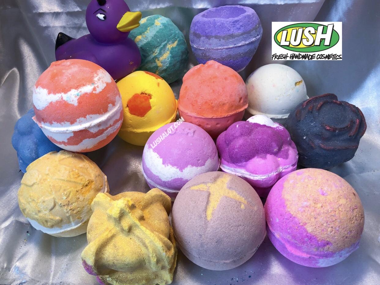 Lush North America New bath bombs! 89 (54) limited edition ...