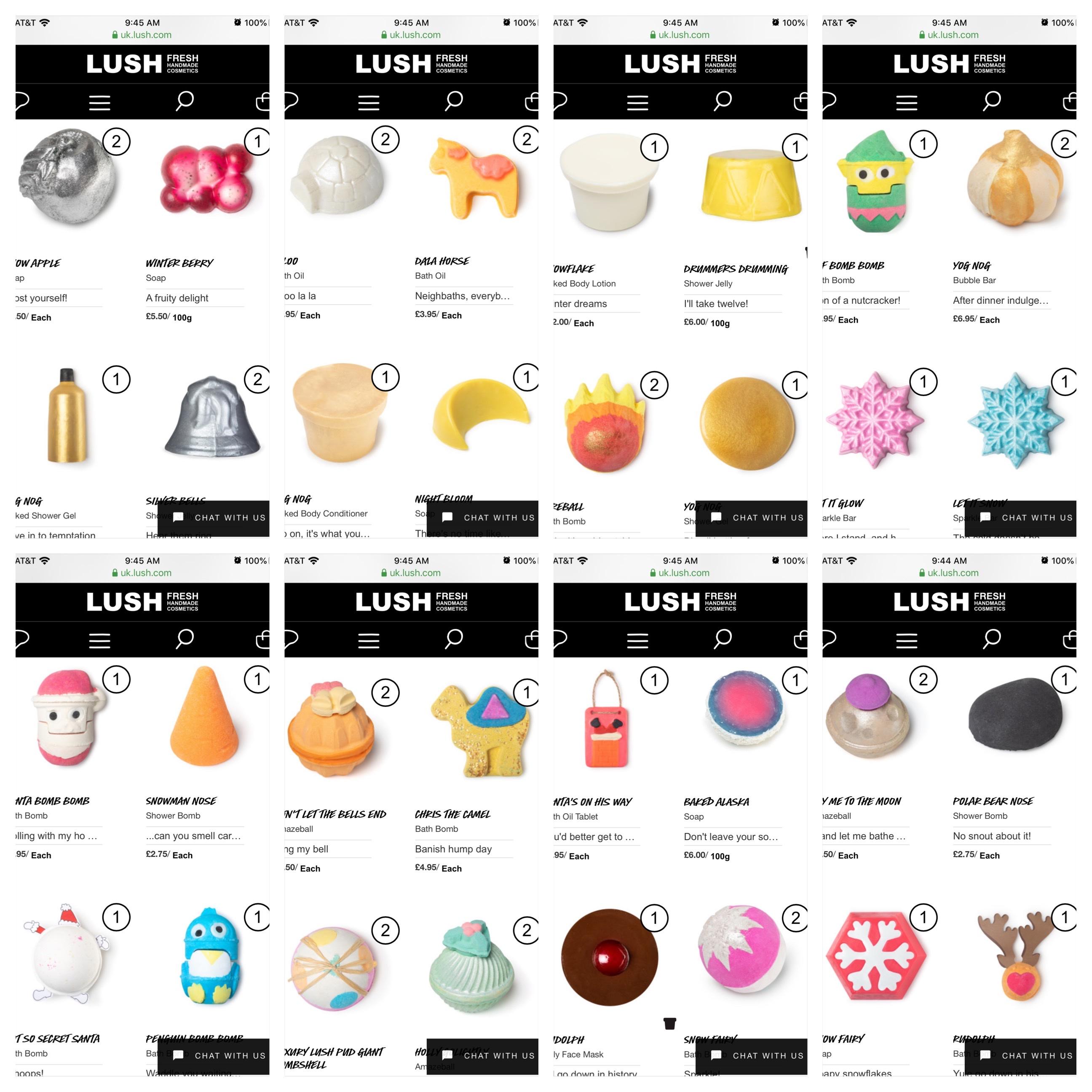 Lush Christmas 2020 Lush Christmas and Halloween Holiday 2019 products! | Lush